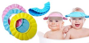 Резиновая панама для купания ребенка - лайфхак для мам.