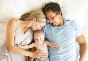 неправильное положение между родителями, которые могут нанести ему травму