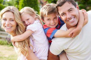 Качества хороших родителей помогли создать дружную семью.