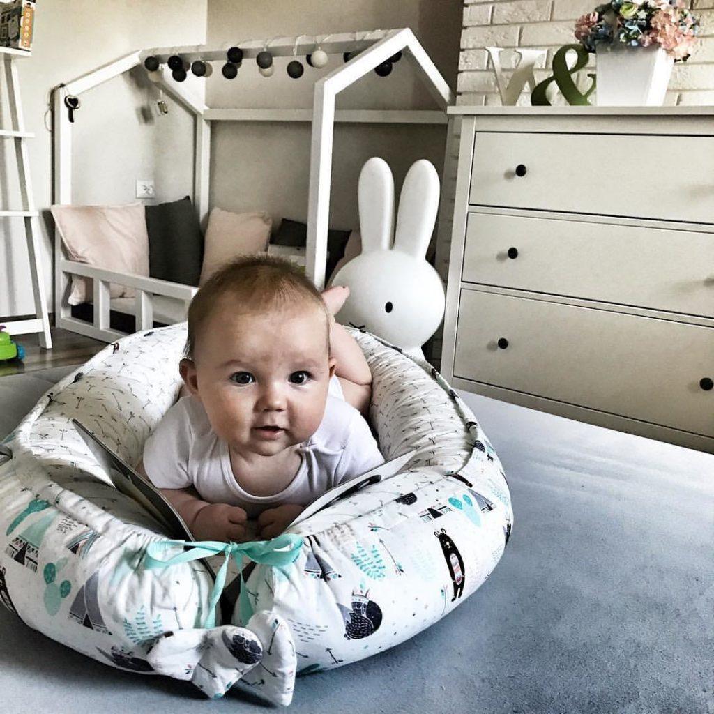 Гнездо кокон для новорожденных. Для чего нужно и как сшить своими руками + выкройка