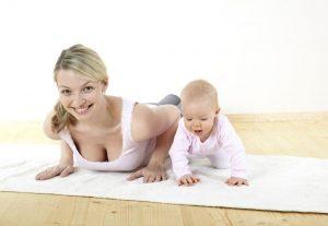 упражнения чтобы похудеть после родов