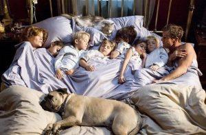 как спать с ребенком в одной кровати