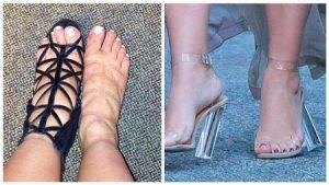 При беременности нельзя носить каблуки любой высоты.