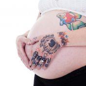 Можно ли делать татуировку во время беременности?