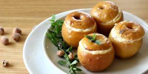 Запеченные яблоки для кормящей мамы - безопасный рецепт