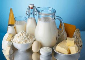 Источники кальция, молочные продукты.