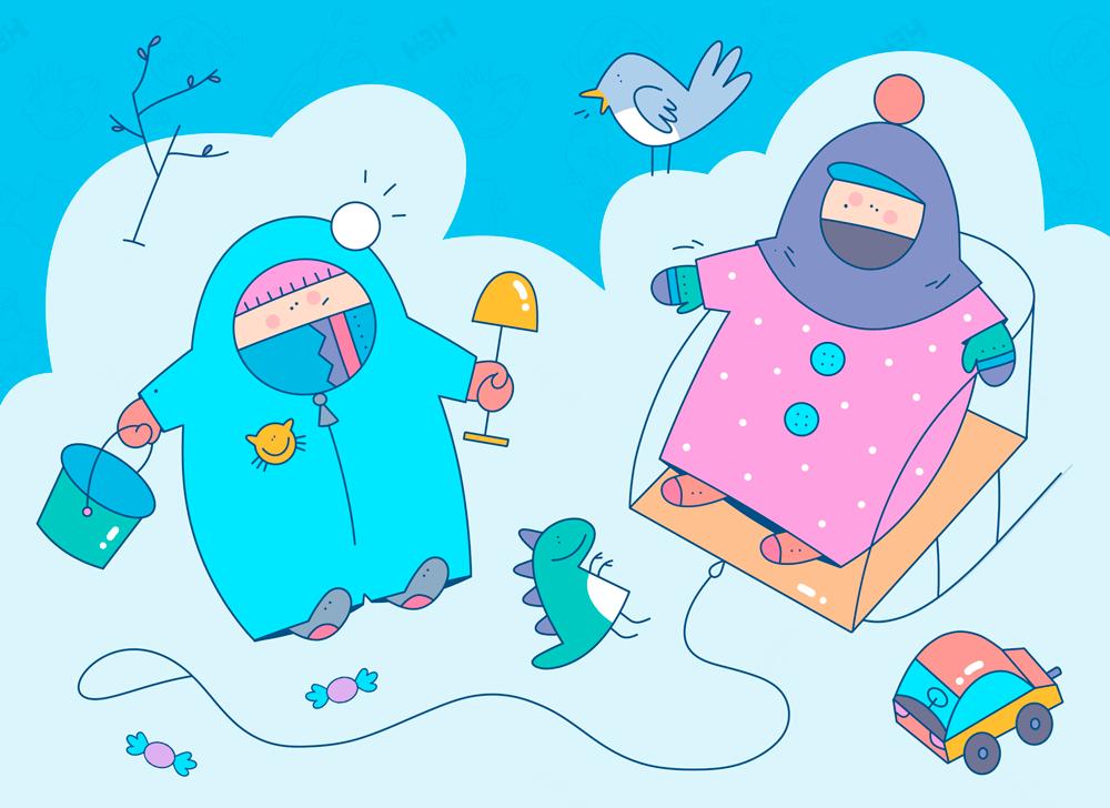 Как одевать ребенка зимой на прогулку, на улицу, на выписку. Когда одевать ребенка в зимнюю одежду? Зима близко!