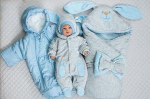 Как одеть ребенка зимой - новорожденный на выписку.