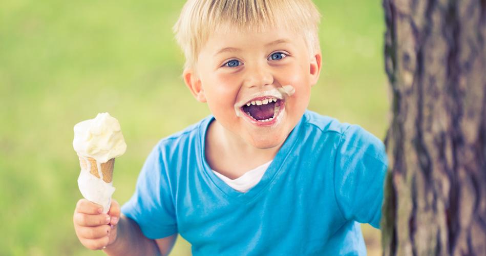 Рецепт мороженого для детей. Мороженое в пакетике долго не тает!