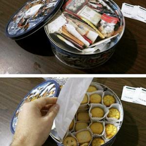 Коробка с печеньем - обман? Куда спрятать конфеты от детей?