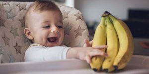 Ребенок и бананы. С какого возраста можно давать банан ребенку?