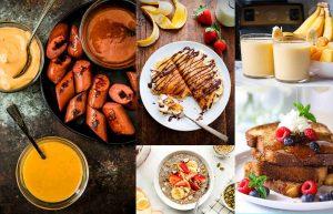 Варианты блюд, что приготовить детям на завтрак быстро и вкусно.