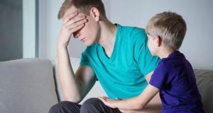 Папа в депрессии: Как распознать признаки послеродовой депрессии.